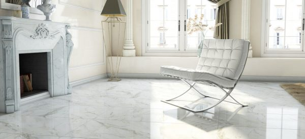 AR Andreson White Rectified Porcelain 60 x 120 Polished
